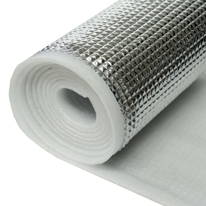 XPE Epe Foam Sheet With MPET Or Aluminum Foil Lamination